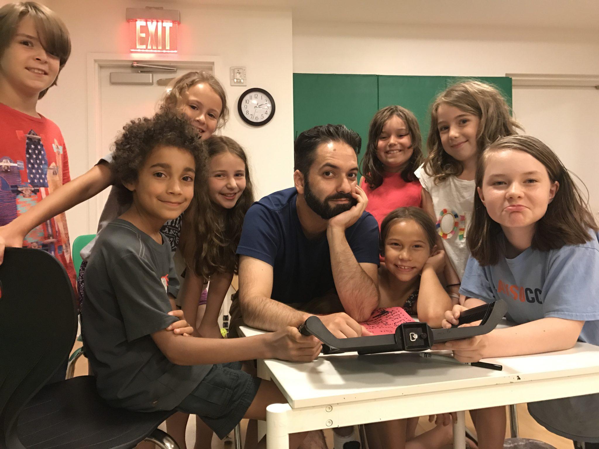 best summer camps in new york city for kids - cinemakidz
