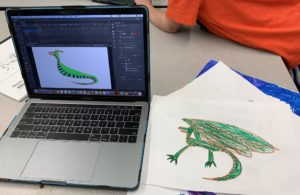 Computer Animation in summer camp