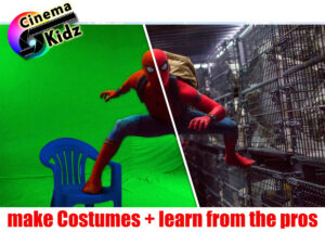 Superhero Productions class in summer camp